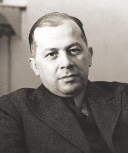 Portret: Ferdynand_Goetel w1936 roku, zdjęcie zdomeny publicznej, Narodowe Archiwum Cyfrowe