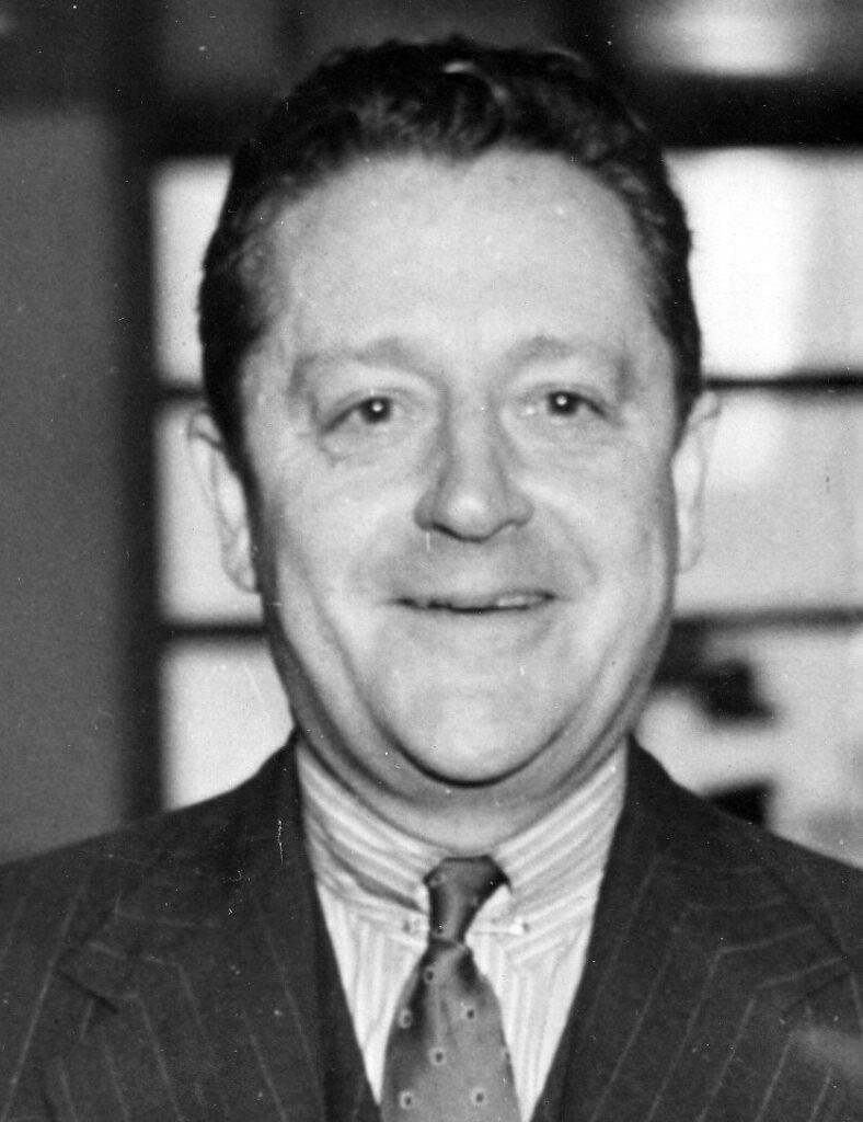 Portret Arthura Bliss-Lane'a ambasadora USA wPolsce wlatach 1945-1947. Zdjęcie zdomeny publicznej rządu USA.