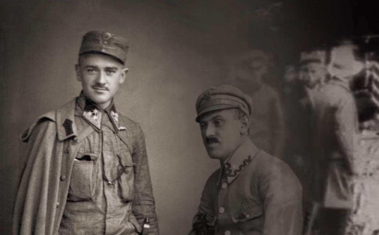 Fotografia przedstawiająca Aleksandra Ślączkę w mundurze.